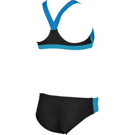 arena Ren Two-Pieces Swimsuit Girl black-pix blue-turquoise